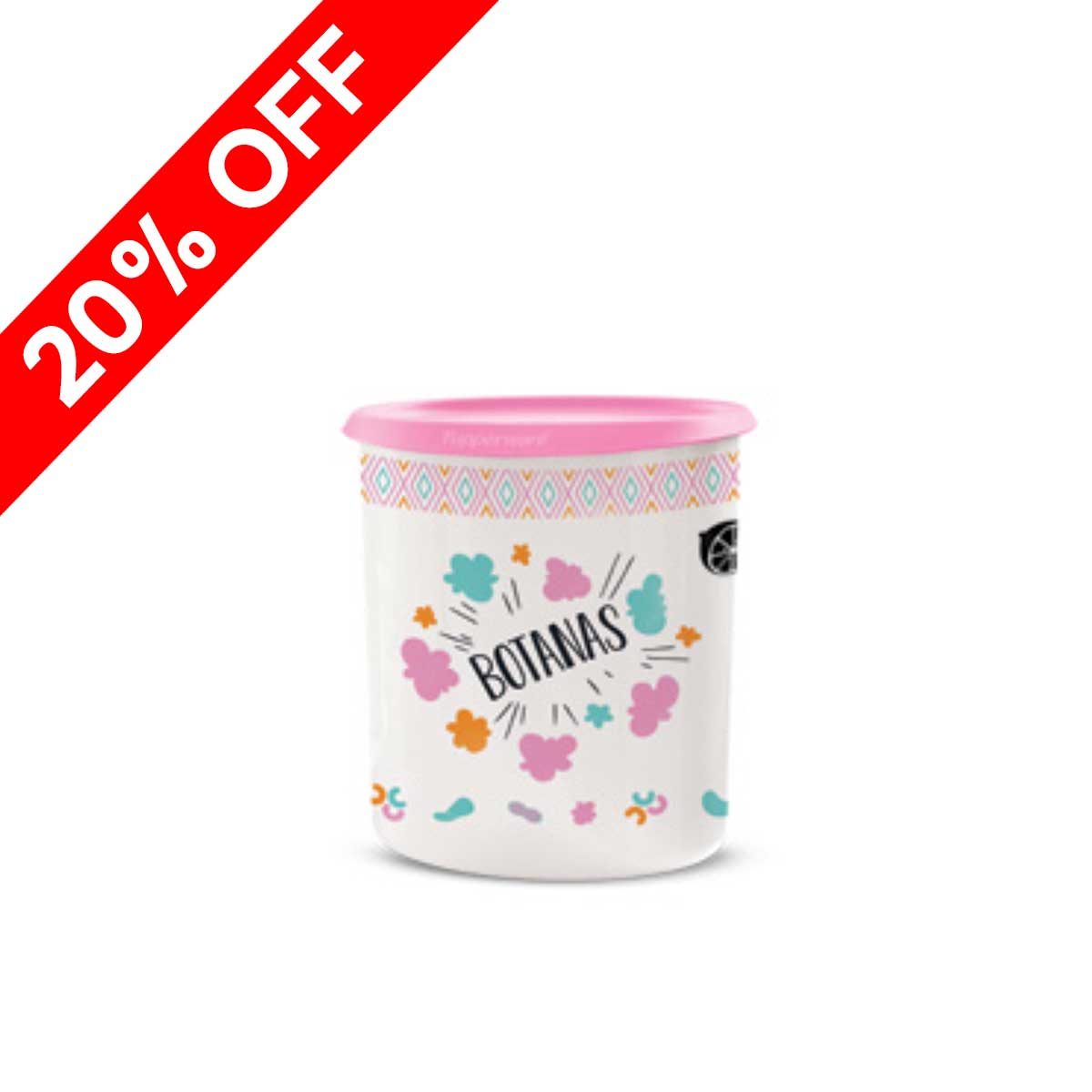 """""""Botanas"""" One Touch® Canister"""